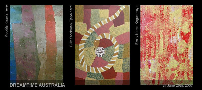 Art Center Berlin / DREAMTIME AUSTRALIA - The Fascination of Aboriginal Art
